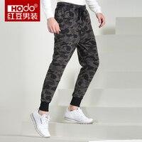 Hodo Calça Casual Dos Homens Calças Do Exército Hip Hop Suor Calças Sweatpants Calças Do Exército Preto