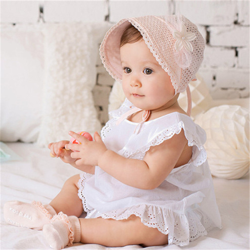 f19e17be0c0 Fashion New 2017 Baby Bebe Girl Girls Infant Newborn Kids Bucket Hat Cap  Hats Caps Beanie Bonnet Hair Accessories Infantil-in Hats   Caps from  Mother   Kids ...
