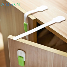 2Pcs/Lot Child Drawer Cabinet Lock Protection Of Children Kids Safety From Baby Closet