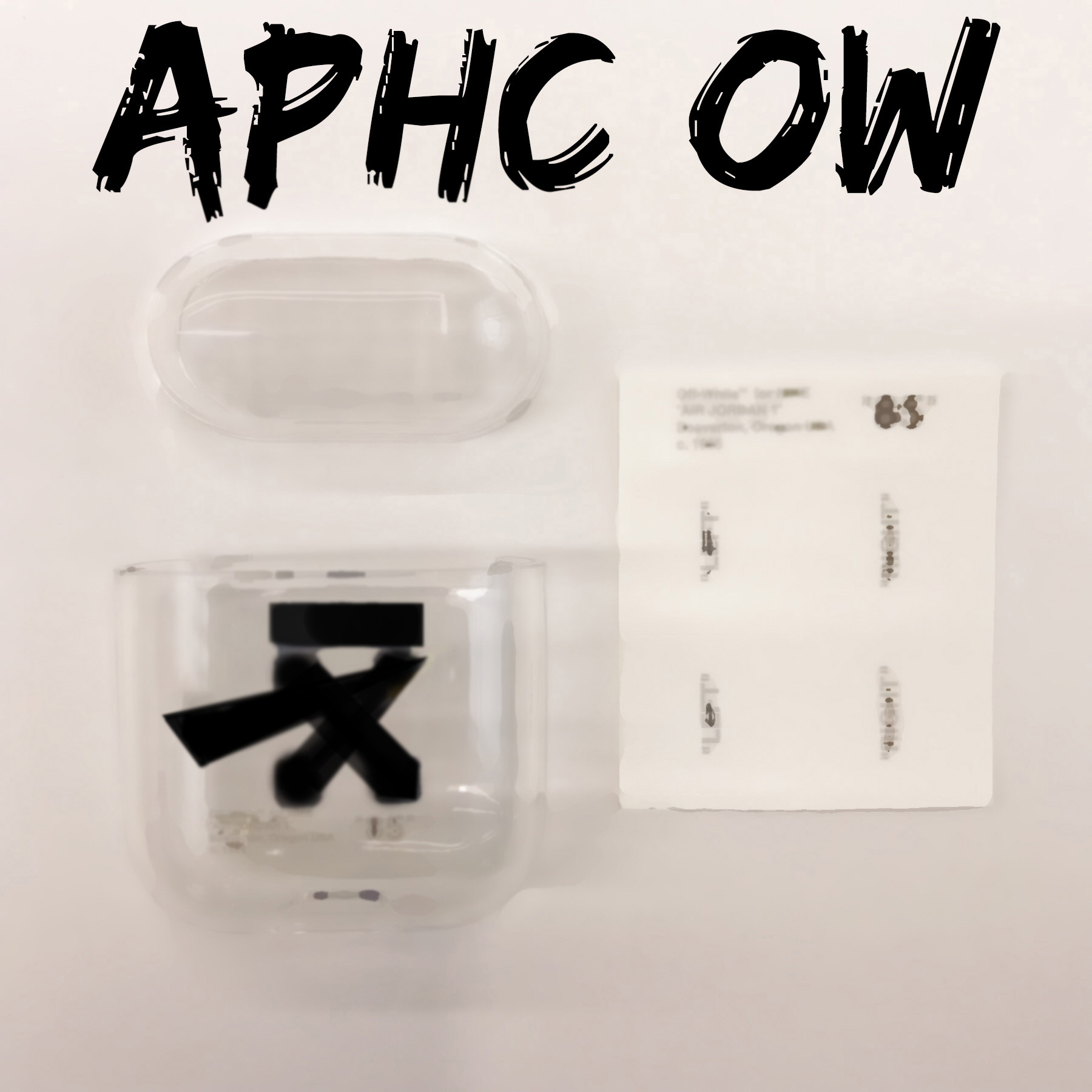 APHC O W and  Sticker O W Modern Design Decoration(China)