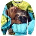 2015 New fashion  women /men's hoody   Animal tree kangaroo  3d print  thin hip hop 3d  women's sweatshirt   hoodies pullover