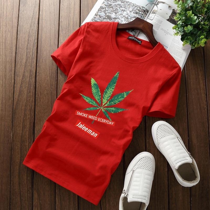 JALEEMAN Canada Flag 2017 New Fashion T Shirt Cotton Short Sleeve T-shirt Canadian Maple Leaf Summer Style Fitness Tee Shirt Men