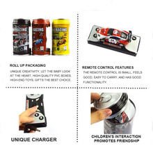 цена на Coke Can Mini RC Cars Control Remote 8 Colors 20Km/h Micro Racing Car 4 Frequencies Toy For Kids RC Models