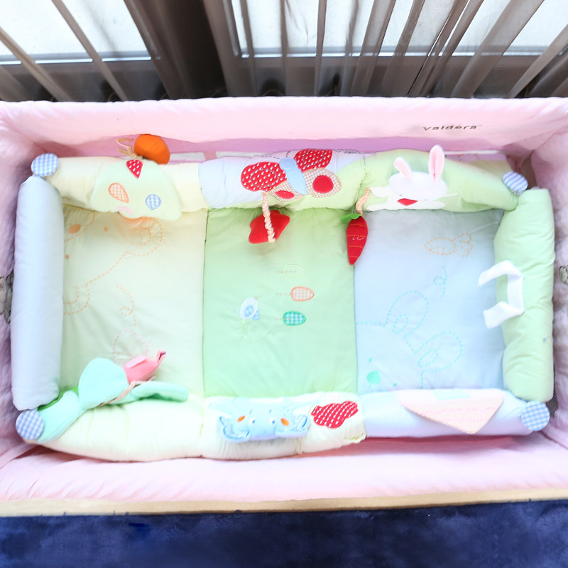 Valdera newborn bed cotton portable baby bed travel carry lovely