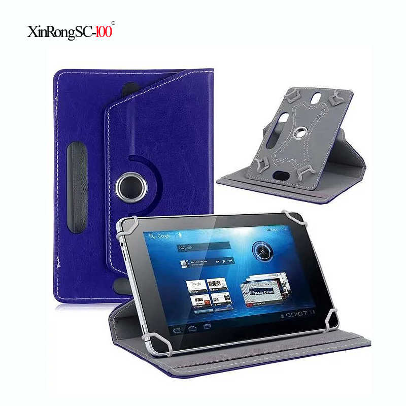 Lenovo TAB 2 için A7-20F 8Gb/A7-30/A7-30DC 16Gb 8Gb 7 inç 360 derece dönen evrensel Tablet PU deri kapak kılıf