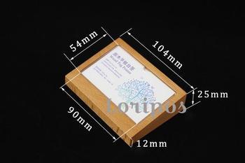 Marco de Fotos de madera soporte de escritorio signo portaetiquetas etiqueta de precio pantalla de información papel foto portarretratos MARCO DE Tarjeta De Nombre de negocios