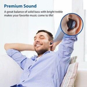 Image 4 - [Nueva versión] Avantree TWS110 Mini auriculares inalámbricos verdaderos para pequeños canales de orejas, Auriculares deportivos Bluetooth 5,0 con control Vol