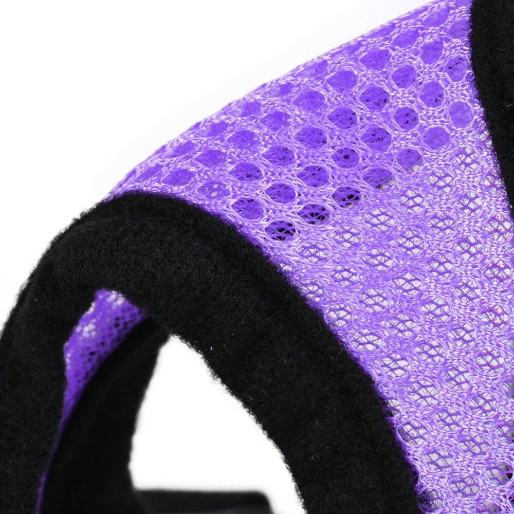 5 Размер Регулируемая Собака Щенок сетка текстильная шлейка аксессуары для домашних животных ремни для мелких средних собак сетчатый поводок жгут 5 цветов