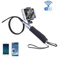 WIFI Endoscope 8mm Len IOS Android Endoscopes 6LED Waterproof Portable Handheld Wifi Endoscope Camera Inspection Camera