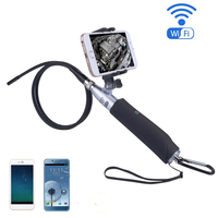 WIFI Endoscope 8mm Len IOS Android Endoscopes 6LED Waterproof Portable Handheld Wifi Endoscope Camera Inspection Camera