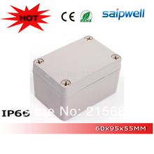low shipping high quality Saipwell ip66 waterproof terminal cable junction / switch box 65*95*55mm DS-AG-0609