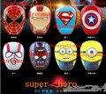 Мода Мстители серии 12000 мАч Power Bank Универсальный для iPhone android-Паук Капитан Капитан Америка Супермен Железный Человек