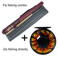 NEW Aventik All Times IM12 Nano Carbon Fiber Short Switch Fly Rods And Fly Fishing Rod Combo With Fly Line Backing Line Sets