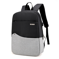 Fashion Canvas Men Anti Theft Backpack Bag USB Charge 15 Inch Laptop Notebook Backpack For Women
