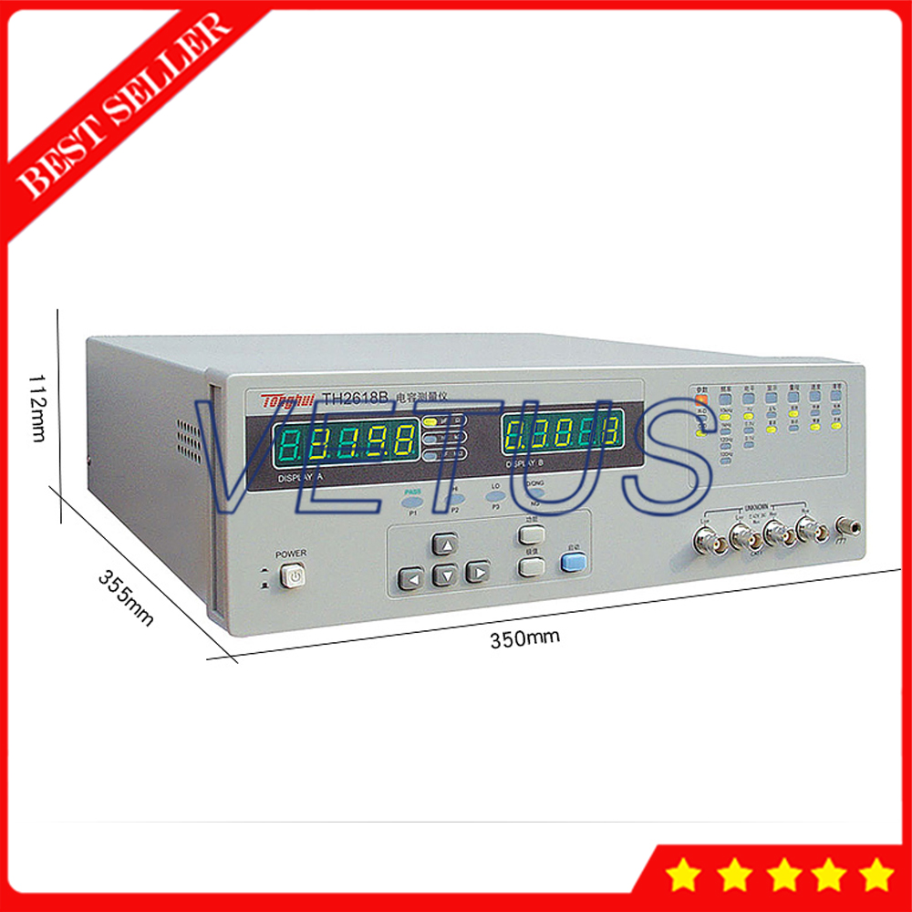 TH2775B измеритель индуктивности с RS 232C интерфейсом индуктивности измерительный прибор 4 частотных точки 3 уровня сигнала