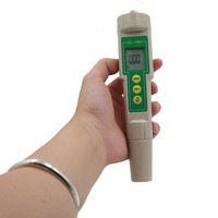 Accurate Water Test Meter Professional 3 in 1 TDS EC & CF Meter tester With Automatic Temperature Compensation 30%off