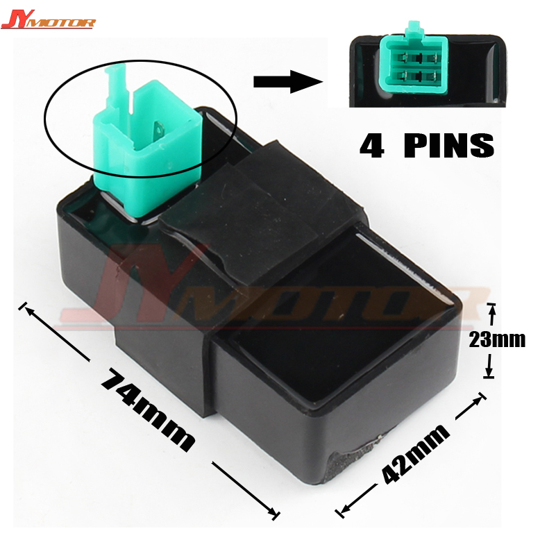 6 pin Unrestricted DC CDI Module GY6 50cc 125cc 150cc Scooter Trike Buggy