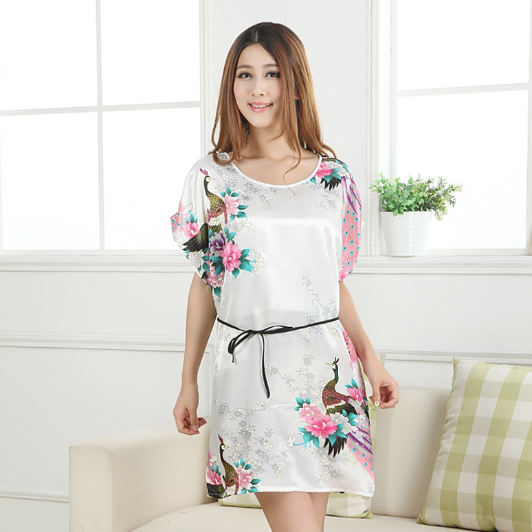 free shipping new women's   Nightgowns   &   Sleepshirts   sleepwear female summer   nightgown   sexy sleepwear   nightgown   silk sleep tops