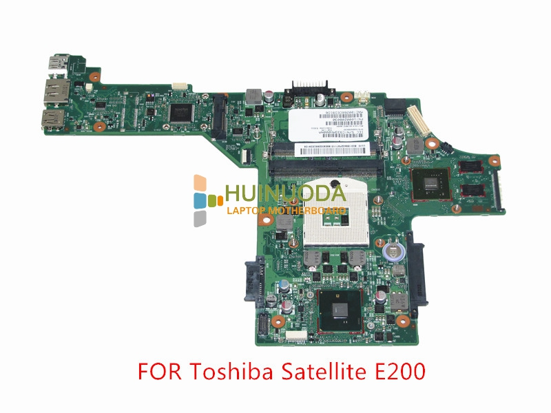 NOKOTION SPS V000208030 For toshiba satellite E200 E205 Laptop motherboard Intel HM55 Nvidia GeForce GT310M Mainboard nokotion for toshiba satellite a100 a105 motherboard intel 945gm ddr2 without graphics slot sps v000068770 v000069110