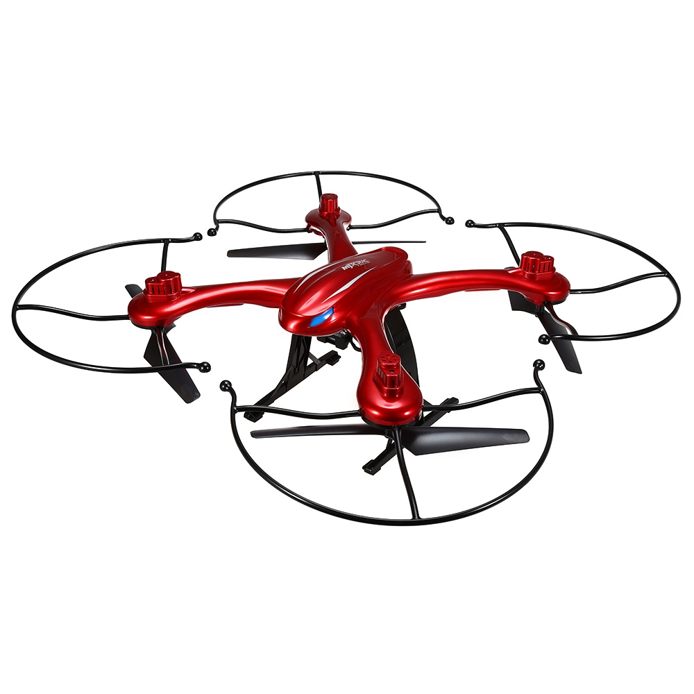 MJX X102H 2.4G 4CH 6-Axle RC Quadcopter RTF Air Press Altitude Hold LED Light Drone One Key Return-Red original jjrc h28 4ch 6 axis gyro removable arms rtf rc quadcopter with one key return headless mode drone