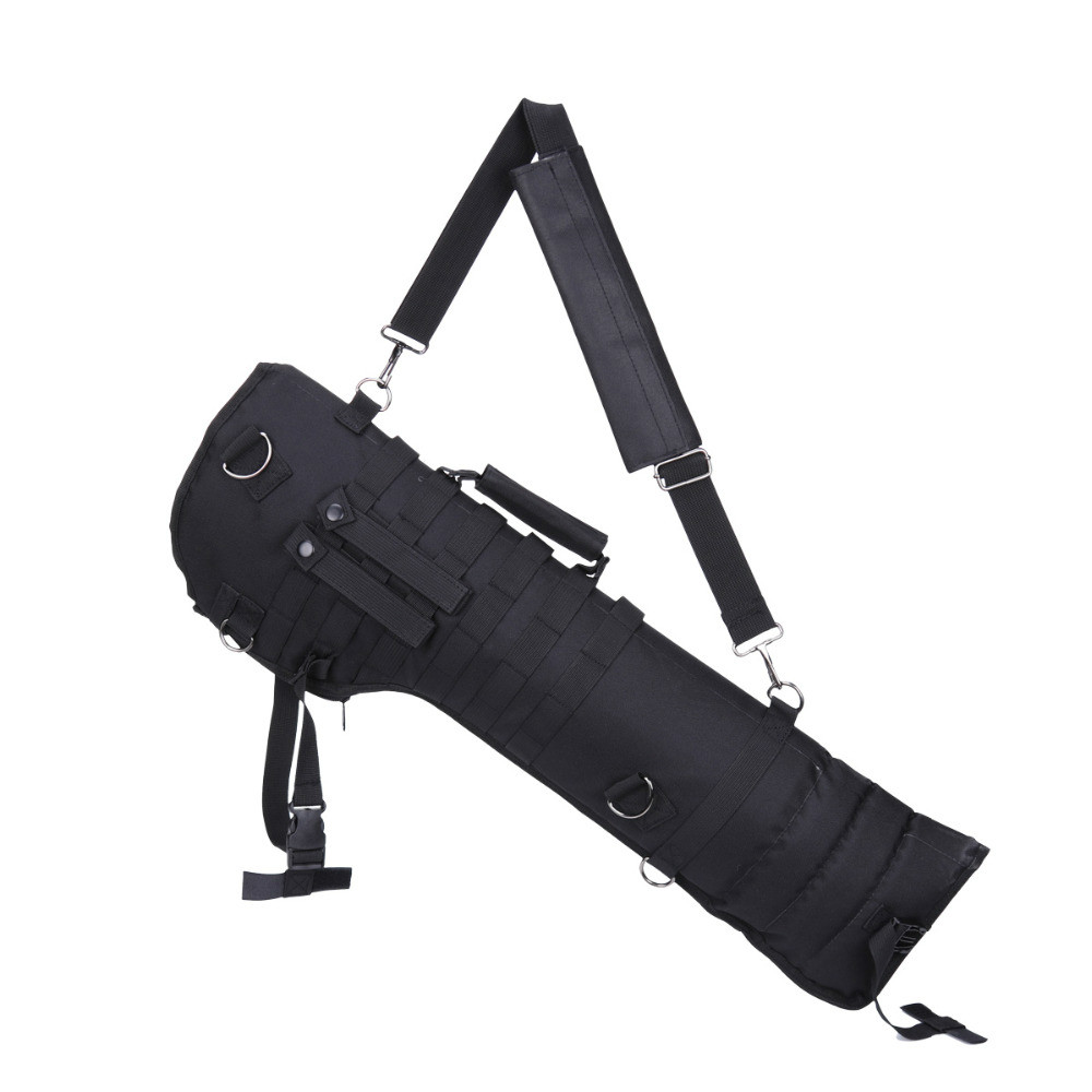 Hot Selling Outdoor Military Hunting Backpack Tactical Shotgun Rifle Long Carry Bag Scabbard Gun Protection Case Backpack-in Hunting Gun Accessories from Sports & Entertainment