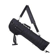 뜨거운 판매 야외 군사 사냥 배낭 전술 산탄 총 소총 긴 캐리 가방 scabbard 총 보호 케이스 배낭