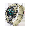 SANDA Brand Men Sport Watches Digital Led Camo Military Watch 50M Waterproof Outdoor Casual Men Wristwatch Relogio Masculino