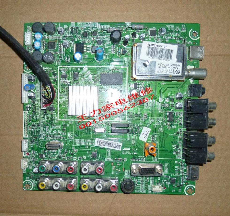 TLM37V68 motherboard RSAG7.820.1872 / ROH (BOM6) 121973 Screen LC370WXE free shipping xc3020 50pc68c new original and goods in stock