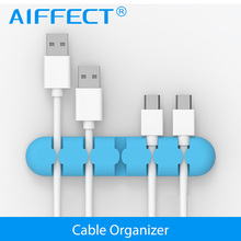 Cable Organizer, AIFFECT Cable Winder Wire Organizer Cable drop Clip Tidy USB Charger Cord Holder Cable Management for Phone aiffcet cable drop clip desk tidy cable organizer wire cord usb charger cord holder organizer holder cable winder for phone