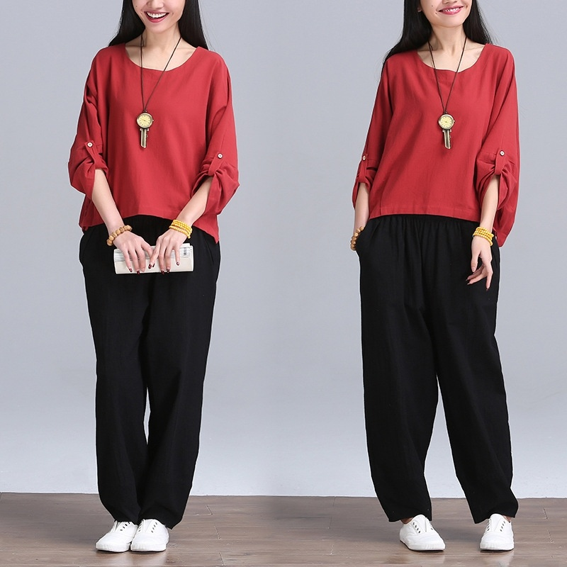 Women Linen Loose Tank Tops (only include 1 pcs tops )