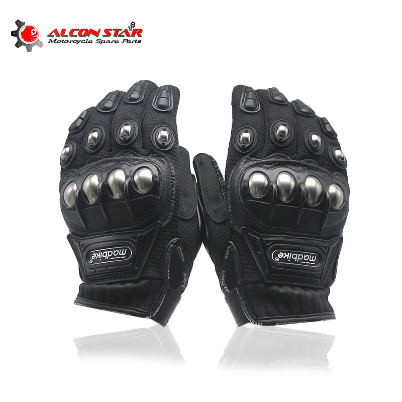 Alconstar Legiertem Stahl Madbike Motorrad Handschuhe Racing Handschuhe Motorrad Handschuhe Schutz Guantes Luvas Para Motor M L XL XXL