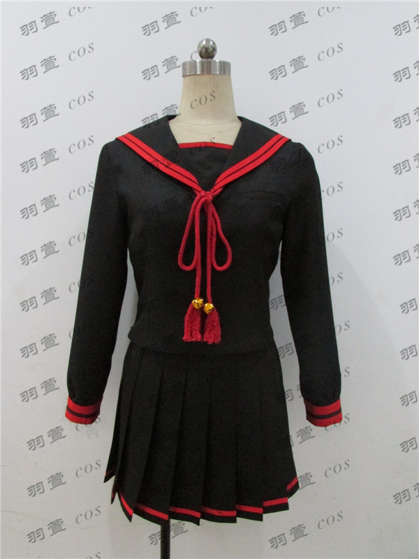 2017 New Anime Re:CREATORS Cosplay Costume Magane Chikujouin Cosplay Costume Full Set Japanese School Uniform Free Shipping