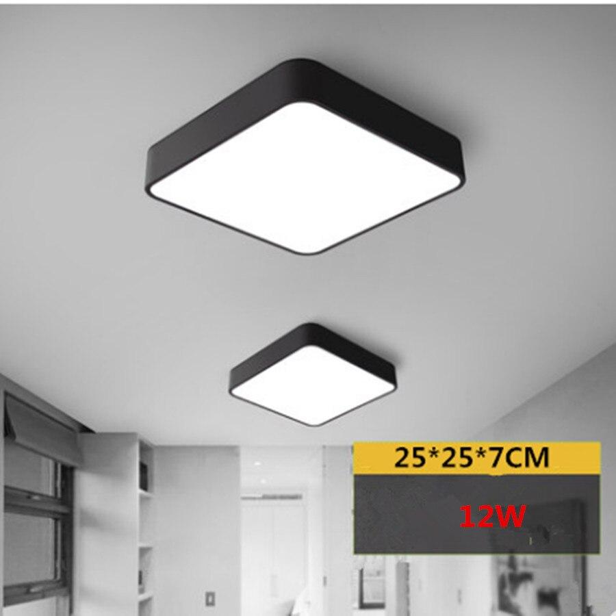 Aliexpress Led Deckenleuchte Rechteckigen Wohnzimmer Lampe Modische Esszimmer Lampen Moderne Einfache Aluminium Schlafzimmer Licht Von