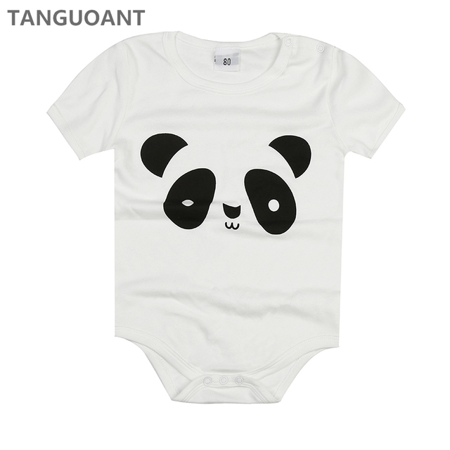 f6d2580b5 TANGUOANT Drop shipping Newborn Baby clothes,Cartoon Baby rompers,Cotton  Baby girl and boy clothes,Panda Printed Infantil Romper