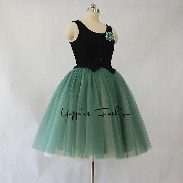 9acfd4df83125 9 Layers Maxi Long Tulle Skirts Womens Sarah Jessica Parker s Tutu Skirt  Vintage Lolita Petticoat faldas mujer saia midi jupe