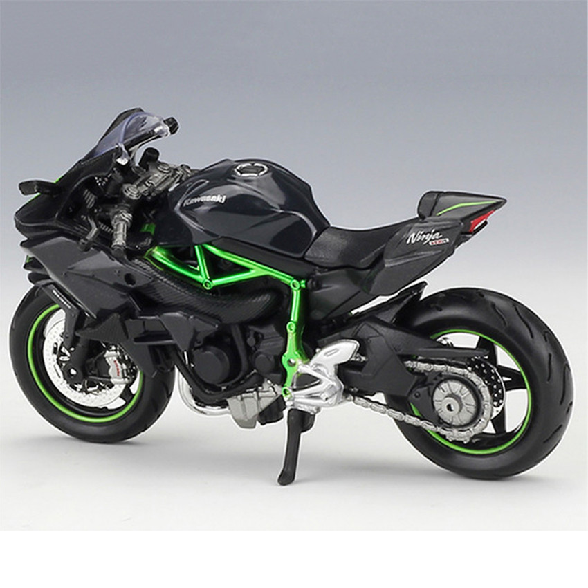 Maisto 1 18 Kawasaki Ninja H2R Motorcylce Model With Removable Base Diecast Moto Children Toy Collections Gift In Diecasts Vehicles From Toys