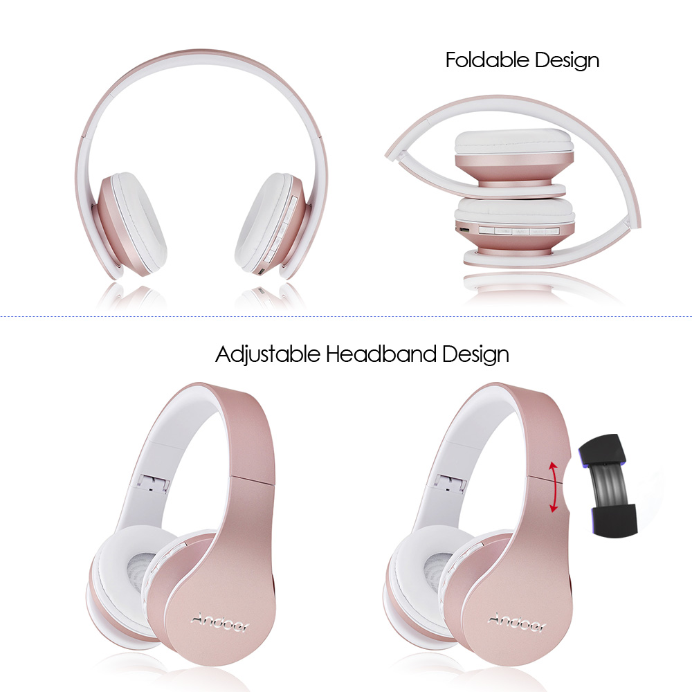 LH 811 Wireless Stereo Bluetooth Headset 4 in 1 Kopfhörer Verdrahtet ...