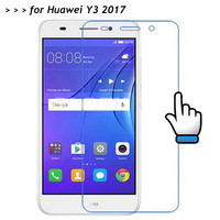 For Huawei Y3 2017 Tempered Glass 25D 9H Screen Protector Protective Film On Y 3