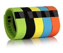 Tw64 gimnasio actividad rastreador bluetooth 4.0 flex smart watch deporte pulsera inteligente podómetro pulsera para ios sistema android