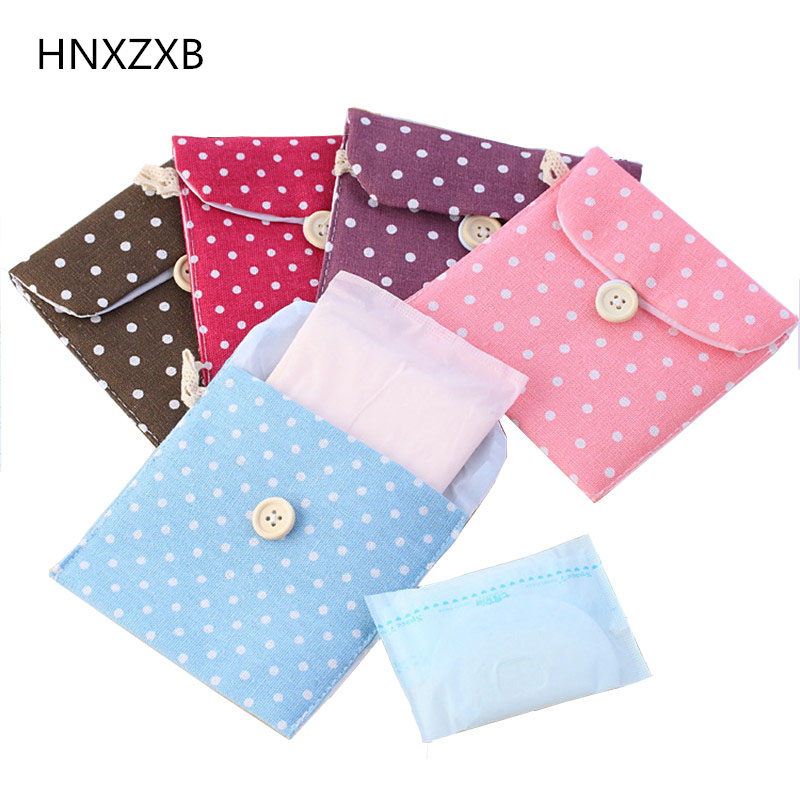 HNXZXB Japanese and south Korean r tampon simple small auntie pocket wrap pack pack sanitary napkin zero purs