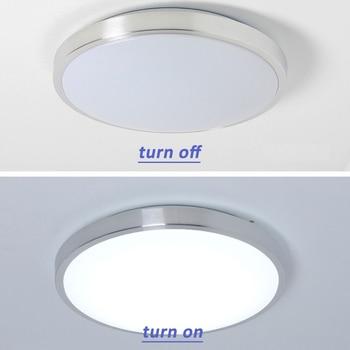 lámparas de iluminación led de techo dormitorio moderno sala de estar lámpara montaje en superficie balcón 18w 24w 30w 36w 40w 48w AC 110V / 220V techo 1