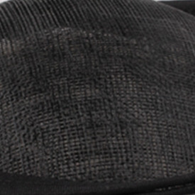 Шляпки из соломки синамей с вуалеткой перья, модные аксессуары для волос популярный свадебный Шляпы очень хороший Новое поступление несколько цветов - Цвет: Черный