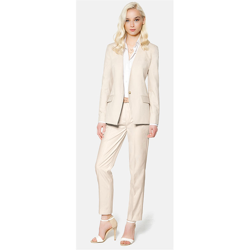 Femmes Shown Fait Formelle Costume Pantalons color satin Bouton Chart Picture Pantalon Costumes Personnalisé Vêtements As Un De Dames Des Color D'affaires 2017 Nouvelle Mode Travail rArRwq