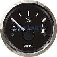 KUS Marine Fuel Gauge Boat Truck Oil Tank Level Indicator 12/24V 52mm 0 190ohms