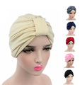 New Fashion Women Turban Headband Stretchy Modal Cotton Turban Hat Dome Cap Head Wrap Turbante