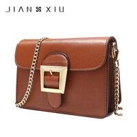 JIANXIU Crossbody Bags for Women 2017 Genuine Leather Luxury Handbags Women Bags Designer Shoulder Messenger Bag Handbag W610