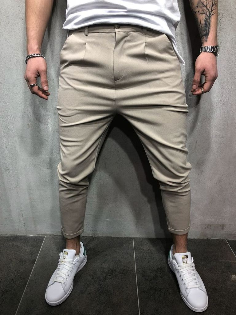 HTB1rWehXOLrK1Rjy1zdq6ynnpXa1 Brand Men Pants Hip Hop Harem Joggers Pants 2018 Male Trousers Mens Joggers Solid Shrink Ankle Pants Sweatpants M-4XL