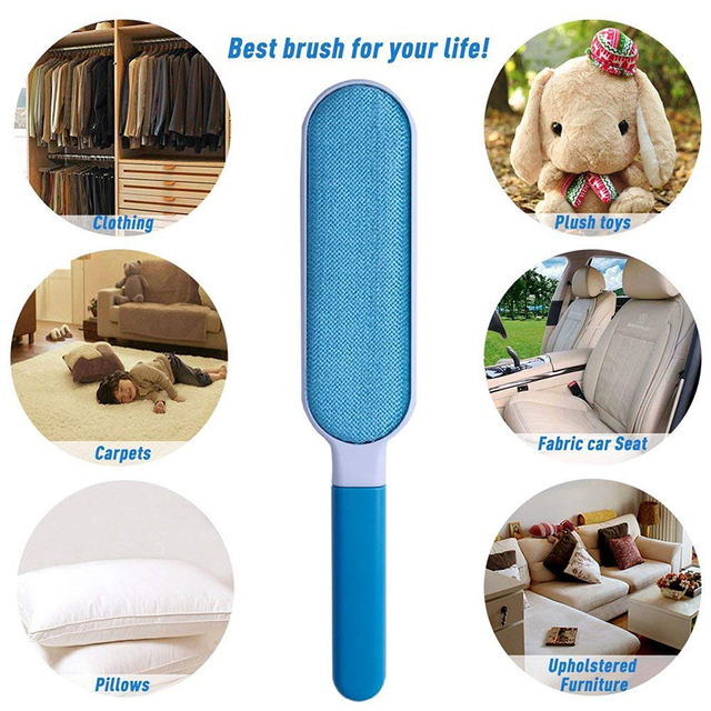 Fur and Lint Pet Hair  Brush For Carpets, Sofas, Clothes and Car
