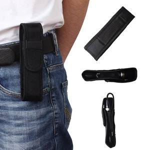Flashlight Pouch Holster-Case Molle Hiking Led-Torch Outdoor Camping