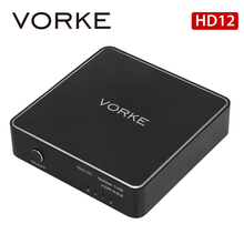 Vorke HD12 1 2 HDMI 2.0 Splitter с HDCP 2.2 кабелей до 4Kx2K @ 60 Гц (YUV4: 4: 4) Совместимость с HDMI2.0b, HDCP2.2 и DVI1.0